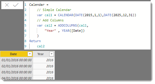 How to create a Power BI Calendar using DAX - Collab365