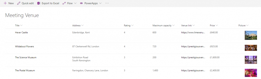 SharePoint modern view formatting with JSON – part 1 of 2
